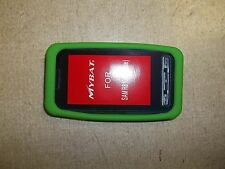 Rubber Case for Samsung R810 Finesse, Green *FREE SHIPPING*