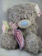 "Me To You Tatty Teddy 9"" bear holding pink rose best mum in the world"