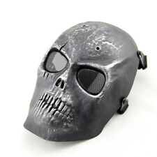 Skull Skeleton Full Face Protect Mask Safe Guard For BB Gun Wargame Hunting