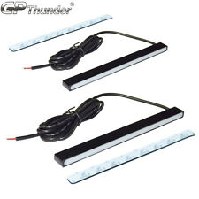 Sectionless Slim Aluminum LED DRL Day Time Running Light fog Lamp Super White