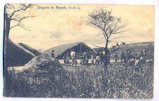 K 145 - DOA Ziegelei in Brandt , 1913 gl.,  Marke gelöst etc