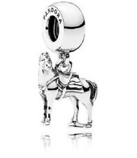 New Authentic Pandora Charm 791810 Disney Maximus Tangled Horse Box Included