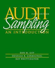 Audit Sampling, Dan M. Guy