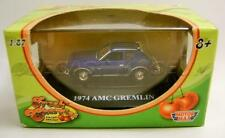 1974 '74 AMC GREMLIN BLUE FRESH CHERRIES MOTORMAX DIECAST 1/87 RARE