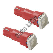 Red 5050 SMD LED t5 Wedge 12v LAMPADINA LED Interni