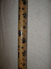 NEW PAWPRINT PAW PRINT DOG CAT BROWN CRAFT KRAFT GIFT WRAP WRAPPING PAPER