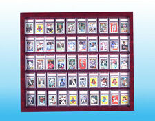 Graded Sportscard Display case Holds 50 graded Cards/ C