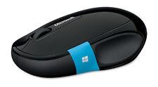 NUOVO Originale scolpire Microsoft Comfort Mouse Bluetooth-Nero (h3s-00001)
