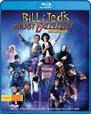 PRE ORDER : BILL & TED'S MOST EXCELLENT COLLECTION - BLU RAY - Region A - Sealed