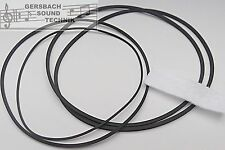Vierkant Riemen Set Philips N 4414/4415  Rubber drive belt kit + Kopffilz NEU