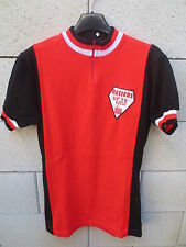 VINTAGE Maillot cycliste UCTR CYCLO RETIERS années 70 cycling shirt ancien 3