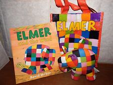 Elmer + The Wind Story Sack learning resource official toy elephant David McKee