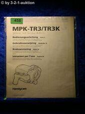 Sony Bedienungsanleitung MPK TR3 / TR3K Handycam Marine Pack (#0458)