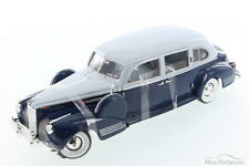 1941 Packard Super Eight 180 Gray Blue Greenlight 1:18 Diecast Model Toy Car
