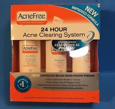 Acnefree 24hr Acne Clearing System NEW Best By 10/2016