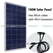 100W 12 V Solar Panel Solar Module for Charge Home Power Camping RV Caravan Boat