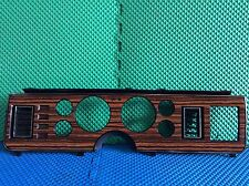 1979-1984 FORD MUSTANG CLUSTER DASH   BEZEL WOODGRAIN USED