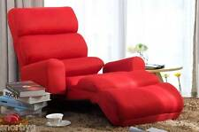 Living Room Chaise Lounge Sofa Chair w/ Pillow Furniture Bedroom, Gamers Chair