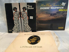 3 Dionne Warwick Vinyl 33RPM LPs-Very Dionne, Where There is Love,Warwicke Story