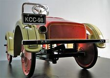 1920s Ford Pedal Car w/Coil Suspension A Rare T Sport Vintage Midget Metal Model