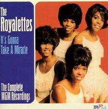THE ROYALETTES - IT'S GONNA TAKE A MIRACLE - COMPLETE MGM RECORDINGS - RPM
