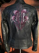 Harley Davidson CYCLE SEDUCTION Leather Jacket ROSE 3 in 1 97041-08VW XS Women