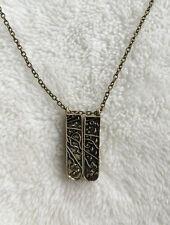 Grimm Key Folding Key Amulet Necklace Seven Knights