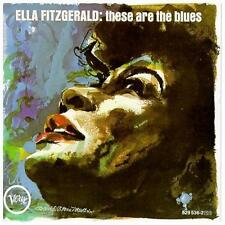 These Are the Blues by Ella Fitzgerald (CD, Oct-1990, Verve)