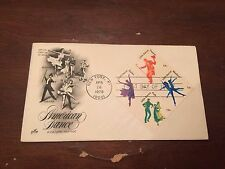 1978 American Dance Stamp Block First Day Cover