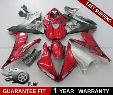 Glossy Red Painted For Yamaha YZF R1 2004-2006 2005 ABS Fairing kit Bodywork