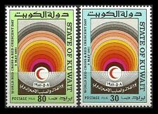 Kuwait 1981 MNH 2v, Red Cross, Red Cresent - Rs40