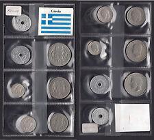 KINGDOM GREECE MONETE REGNO GRECIA Costantino 7 Pz. Ottima conservazione