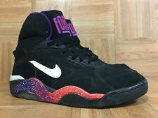 RARE�� Nike Air Force 180 Phoenix Suns Charles Barkley 12 537330-017 Black Pink