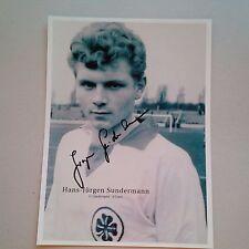 HANS-JÜRGEN SUNDERMANN DFB 1960 (Rot-Weiß Oberhausen 1958-63) signed Photo 20x27