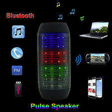 Bluetooth Audio Box Pulse Altoparlante Wireless mp3 SD USB AUX NERO NUOVO