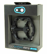 Crank Brothers STAMP Platform Mountain Bike Pedals, Small, Black