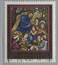 Autriche Austria 2215. 400. anniversaire de la mort HL. petrus Caninius-holrelief 1997 Gest
