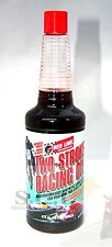 RED LINE TWO-STROKE RACING OIL SYNTHETIC LUBRICATION 16 OZ BOTTLE