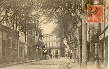 LEZIGNAN avenue du 1er mai timbrée