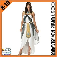Womens Cleopatra Genie Aladdin Disney Ladies Fancy Dress Costume Size 8 - 10