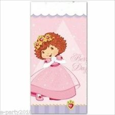 STRAWBERRY SHORTCAKE Berry Princess PLASTIC TABLECOVER ~ Birthday Party Supplies