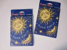 Fabulous Sun and Moon Party / Dinner Invitations by DesignWare - 2 Sets of 8