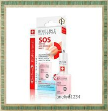 Eveline Professional Nail Therapy Conditioners SOS BRITTLE AND BROKEN NAILS