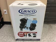 Brand New Graco Aire3 Click Connect Travel System, Gotham collection
