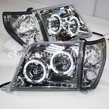 1998 to 2003 Year For TOYOTA Prado 3400 FJ90 LC90 LED Headlights Silver Housing