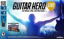 GUITAR HERO jeu Live et Contrôleur de guitare Bundle Pour Apple TV iPhone iPad IOS