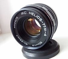 MC HELIOS 77M-4 50mm f1,8 lens M42 mount Zeiss Biotar