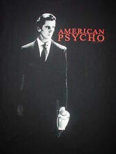 AMERICAN PSYCHO Christian Bale Movie Great For Concert or Stage Medium M T SHIRT