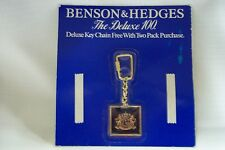 VINTAGE BENSON & HEDGES DELUXE KEY CHAIN FREE WITH TWO PACK PURCHASE