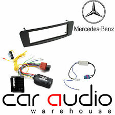 Mercedes A Class 2012 Car Stereo S/Din Fascia & Steering Wheel Interface CTKMB10